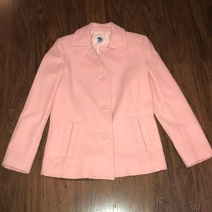 Pink Driving Coat